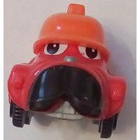 Киндер Сюрприз -1999 -Мультяшное лицо- Красный Грузовик (пожарный) K99N105