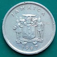 5 центов 1987 ЯМАЙКА
