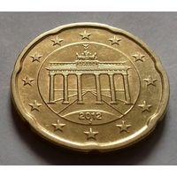 20 евроцентов, Германия 2012 J, AU