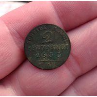 2 пфенинга 1833
