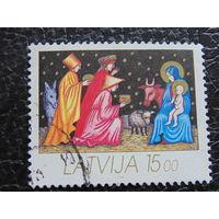 Латвия 1992г. Рождество.