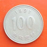 100 вон 1991 ЮЖНАЯ КОРЕЯ