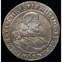 1624 GERMANY-BRUNSWICK-LUNEBURG-CELLE BATAVIA SHIPWRECK CHRISTIAN THALER IN GVF RARE