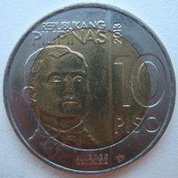 Филиппины 10 песо 2013 г.