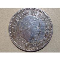 Монако 10 франков 1966г