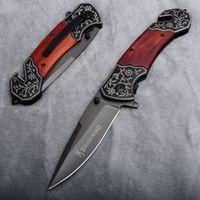 Тактический Складной Выкидной нож Browning F123, Дерево