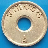 Торговый жетон-Виттенборг А - WITTENBORG A