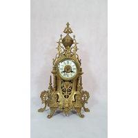 Старинные бронзовые часы