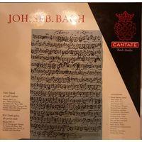 JON. SEB. BACH/Cantate/1961, Germany, LP, EX