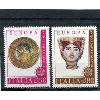 Италия. Искусство. Европа СЕРТ 1976