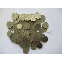 Сборный лот монет СССР ( 10, 15, 20 копеек), более 100 шт.