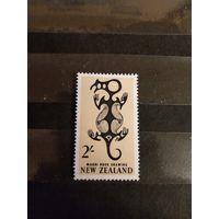 1960 Новая Зеландия искусство культура чистая без клея без дыр (4-1)
