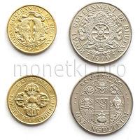 Бутан 2 монеты 1979 года.