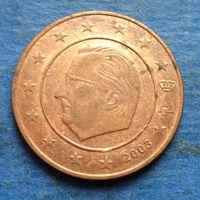 Бельгия 5 евроцентов 2003