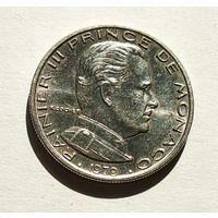 Монако 1 франк, 1979 5-5-25