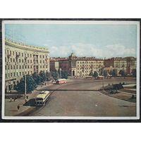 БССР. Минск. Круглая площадь. 1959 г. Чистая