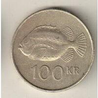 Исландия 100 крона 1995
