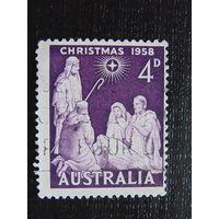 Австралия 1958 год. Рождество.