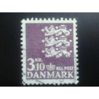 Дания 1970 герб