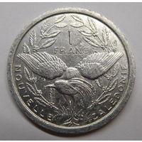 Новая Каледония 1 франк 2007 г