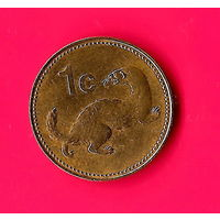 28-28 Мальта, 1 цент 2001 г