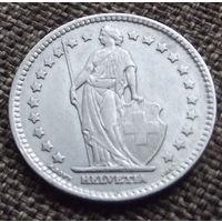 Швейцария. 1 франк 1914 серебро