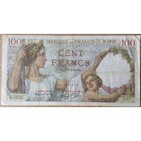 100 франков 1940г