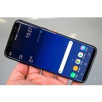 """Samsung Galaxy S8 G950FD, 5.8 """", Android 7.0, Камера 12Мп, оперативки 4гб., встроено 64, 2 сим, хорошая батарея, цвет черный, очень хорошее состояние, по работе без проблем, родной комплект"""