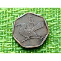 Ботсвана 5 тхебе 1998