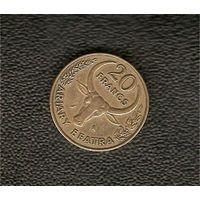 20 франков 1972 г.