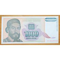 1000 динаров 1994 года - Югославия - UNC