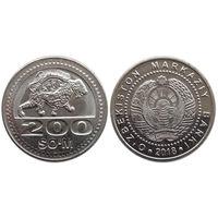 Узбекистан, 200 сом 2018
