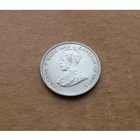 Стрейтс-Сеттлментс, 10 центов 1927 г., серебро, Георг V (1910-1936)