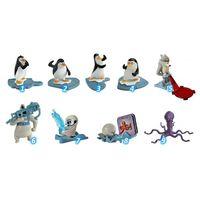 Серия игрушек из киндера пингвины мадагаскара