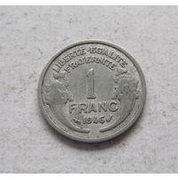 Франция 1 франк 1946 Четвертая Республика