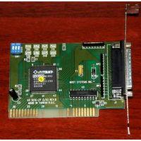 """AZ-SCSI I/F (I/O) разъём 25-pin """"мама"""" - контроллер от сканера Mustek"""