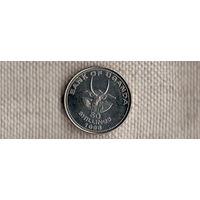 Уганда 50 шиллингов 1998/фауна/(Li)