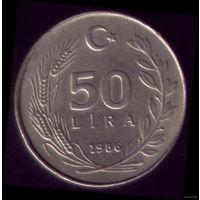 50 Лир 1986 год Турция