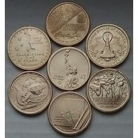 США.1 доллар. Серия Инновации. Комплект из 6 монет.