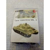 3,62 GB005 Танк Valentine Mk.II Масштаб 1:100