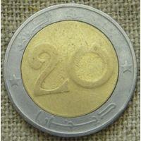 20 динаров 1992 Алжир
