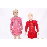 Платье с болеро 104-110