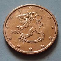 2 евроцента, Финляндия 2000 г.