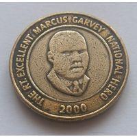 Ямайка, 20 долларов 2000 год