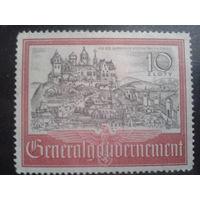 Генерал-губернаторство 1941 Крепость и город Краков*