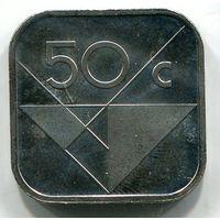 АРУБА - 50 ЦЕНТОВ 1989