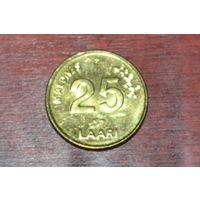 Мальдивы 25 лаари 2008