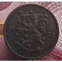 1 пенни 1922