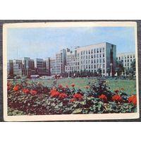 Минск. Дом Правительства. 1965 г. Чистая.