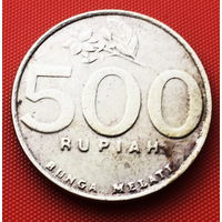 117-03 Индонезия, 500 рупий 2001 г.